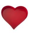Dienblad hartvormig 30 cm