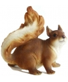 Dieren beeldje eekhoorn 16 cm