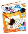 Dieren kleurboek met 10 stiften
