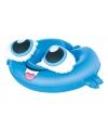 Dieren zwemring blauw