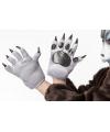 Dierenklauwen handschoenen wolf