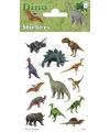 Dino stickers 3 vellen