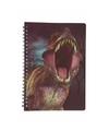 Dinosaurus notitieboek 3d 21cm