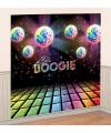 Disco boogie scene setter 165 x 82 5 cm