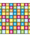 Disco scenesetter gekleurd 9 meter