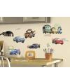 Disney cars gekleurde muur stickers