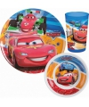 Disney cars servies set 3 delig