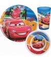 Disney cars servies set 3 delig