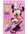 Disney fleece deken minnie mouse