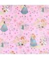 Disney inpakpapier frozen roze 200 x 70 cm