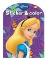 Disney kleurboek alice in wonderland