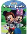 Disney kleurboek mickey mouse clubhuis