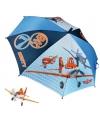 Disney planes paraplu blauw