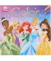 Disney prinsesjes kleurboek
