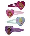 Disney prinsessen haarspelden hartje