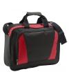Documenten tas rood zwart 40 cm