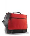 Documenten tas zwart met rood
