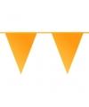 Donker gele vlaggenlijn 10 meter