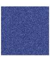 Donkerblauw glitter papier vel
