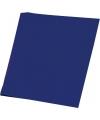Donkerblauw karton vel 48 x 68 cm