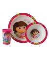 Dora ontbijtset 3 delig