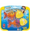 Duikringen figuren gekleurde vissen