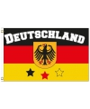 Duitsland vlag met tekst