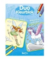 Duo kleurblok fee n elfen
