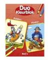 Duo kleurblok ridder piraten