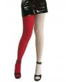 Duo panty voor dames rood en wit