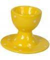 Eierdop geel 9 cm