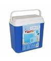 Elektrische blauwe koelbox 22 liter