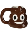 Emoticon beker chocolade ijs