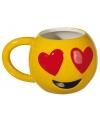 Emoticon beker verliefd