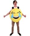 Emoticon kostuum lachend voor volwassenen