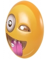 Emoticon masker knipoog