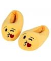 Emoticon sloffen kusje voor kinderen