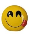 Emoticon smile tong spaarpot 13 cm