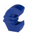 Euro spaarpot blauw 11 cm