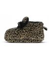 Fashion meisjes sloffen luipaard bruin