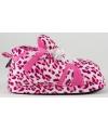 Fashion meisjes sloffen luipaard roze