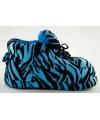 Fashion meisjes sloffen tijger blauw