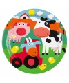 Feest bordjes boerderij thema
