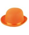 Fel oranje bolhoed