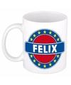 Felix naam koffie mok beker 300 ml