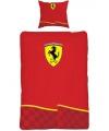 Ferrari dekbed overtrek 140 x 200 cm