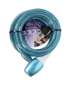 Fiets spiraalslot blauw