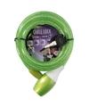 Fiets spiraalslot groen