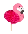 Flamingo prikkertjes 8 stuks