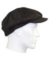 Flat cap bruin